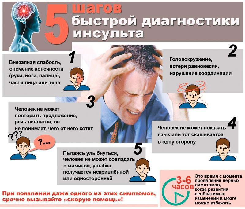 Инсульт: предупреждающие признаки, факторы риска, профилактика